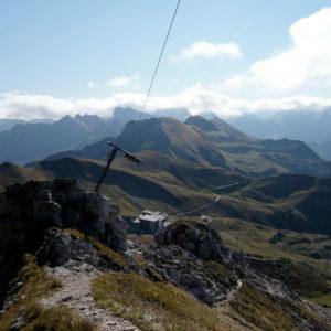 Nebelhorn-Südgrat - Blick zurück