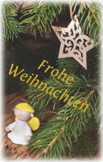 Frohe Weihnachten