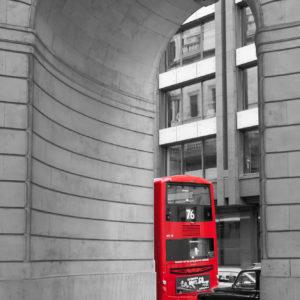 Red: Bus @ Royal Exchange
