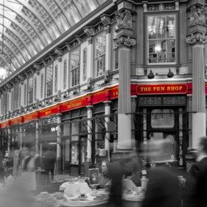Moving: Leadenhall Market I