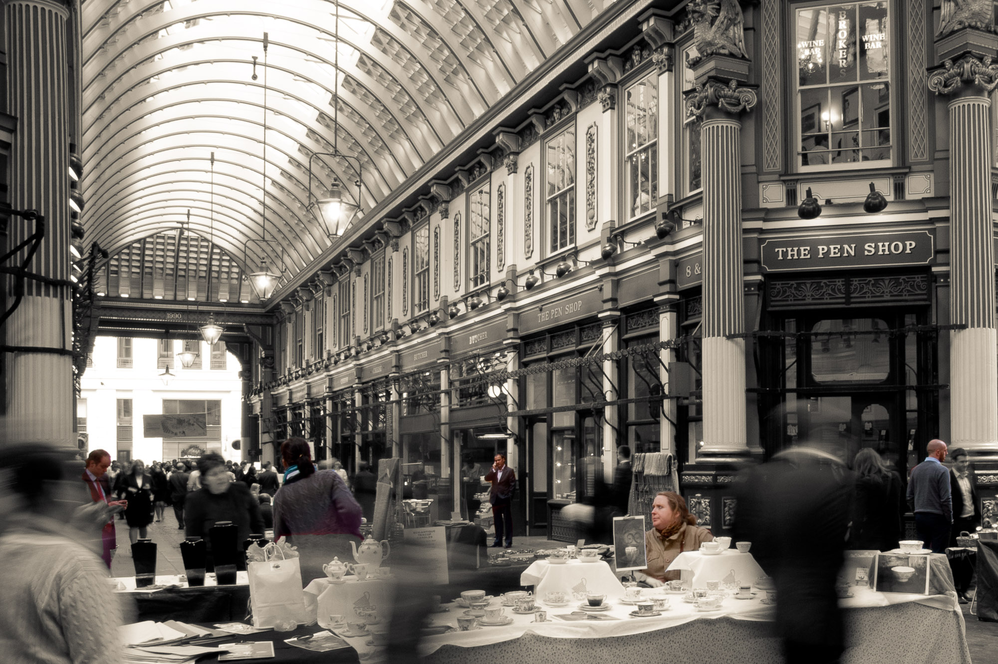 Moving: Leadenhall Market II