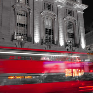 Moving Red: Picadilly Circus VI