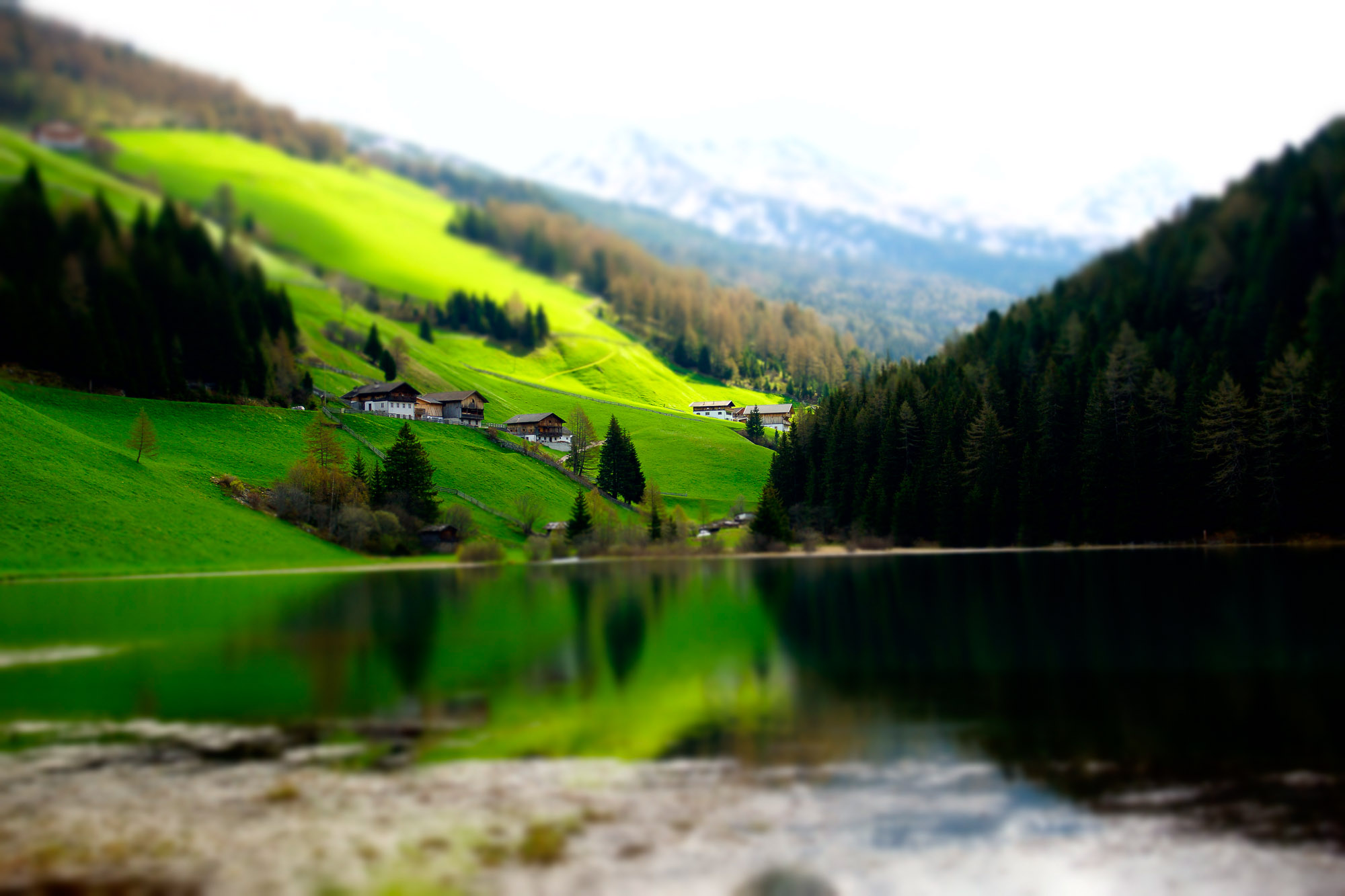 Miniatur-Wunderland Südtirol: Durnholzer See