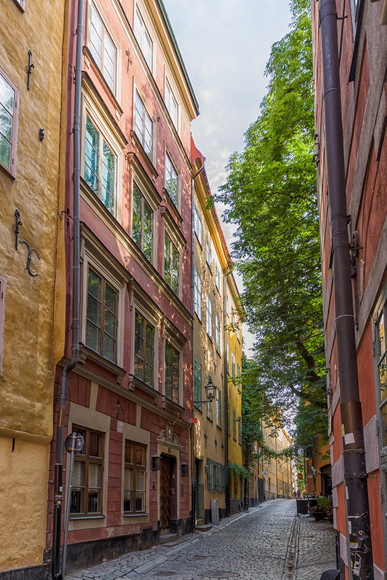 Gamla Stan - Fassaden III