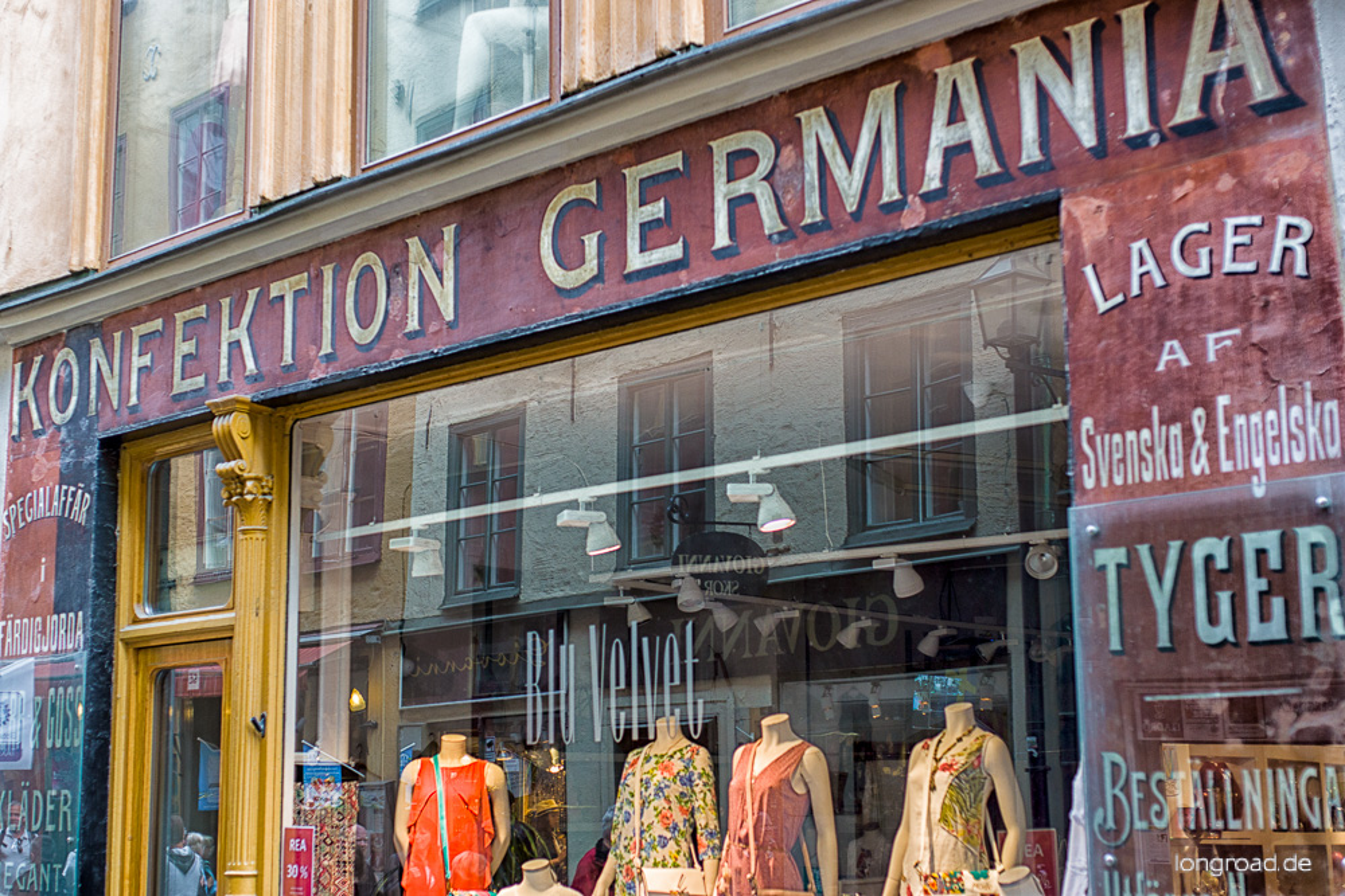 Gamla Stan - Konfektion Germania