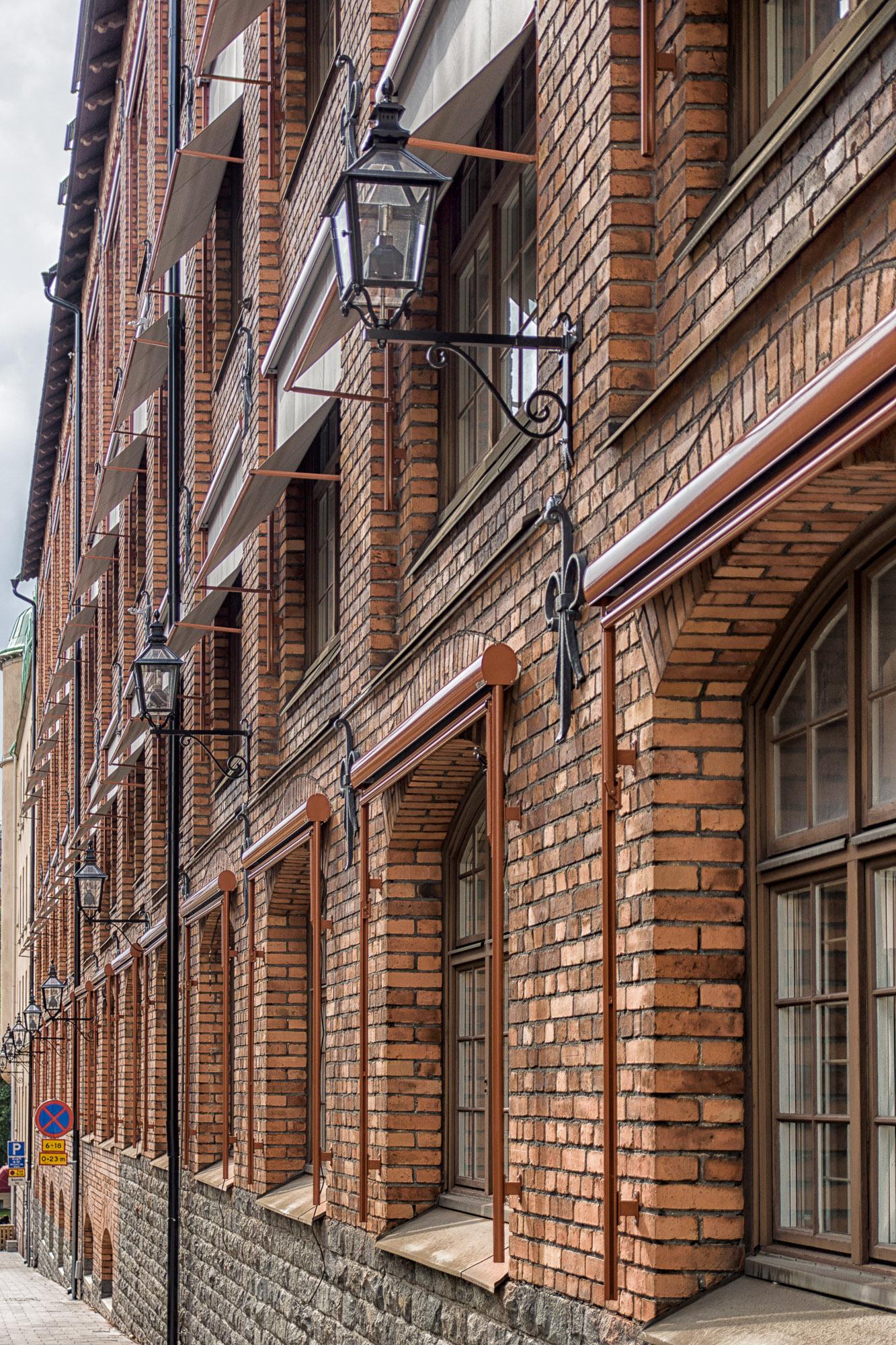 Backstein-Fassade