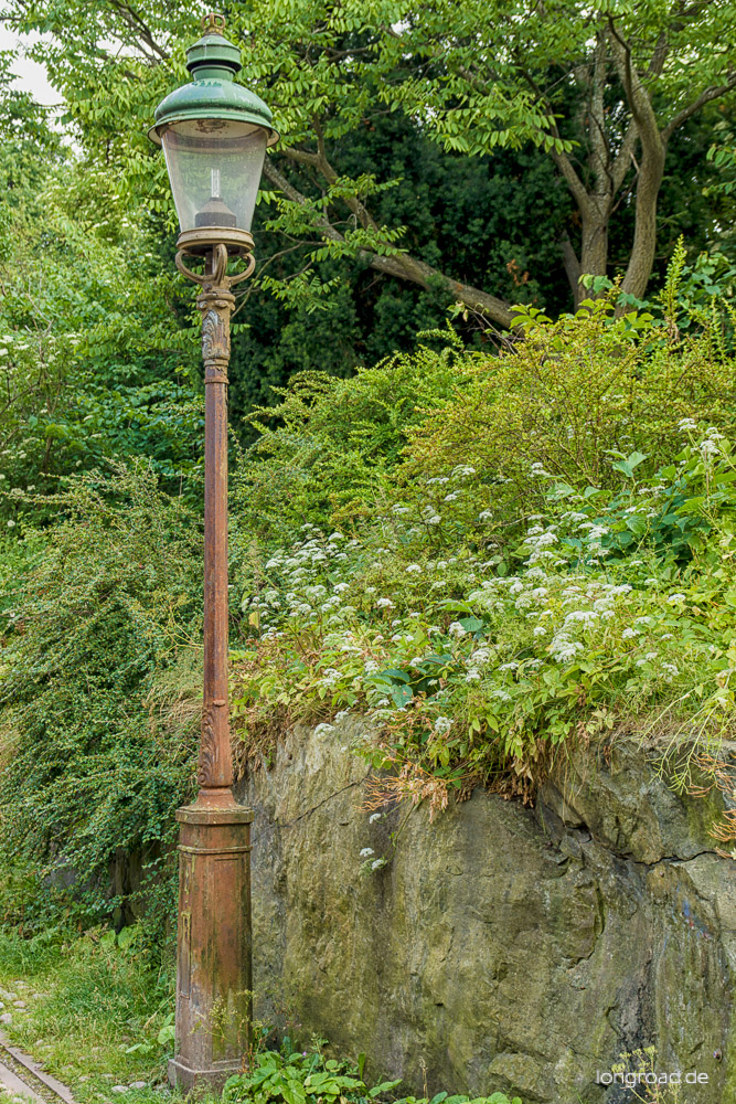 Rostige Lampe I